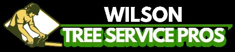 Wilson Tree Service Pros Logo (B&W)